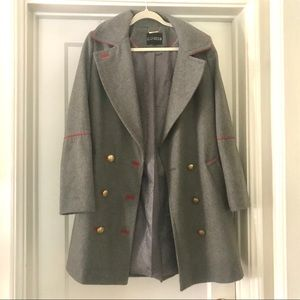 NEW! Express great military wool coat